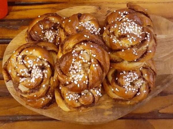 Smorrebrod Cinnamon buns / Kanelbulle / Kanel Snegl 10 pack bundle