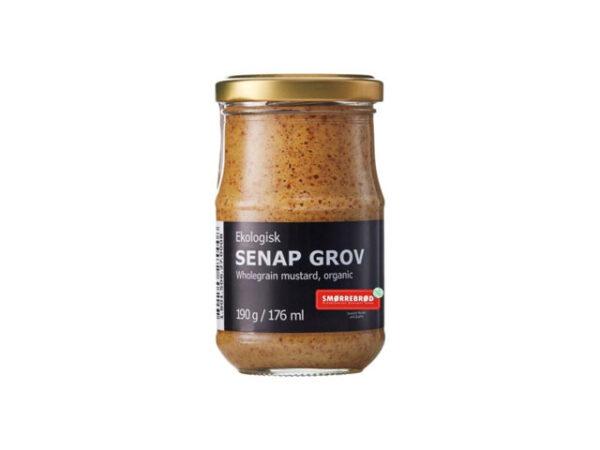 Smorrebrod Wholegrain Mustard / Grov Senap Organic