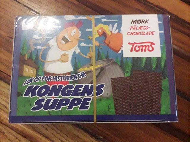 Smorrebrod TOMS Dark Chocolate