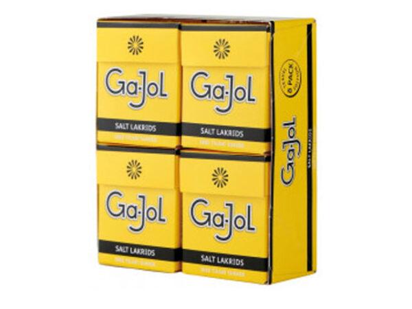 Smorrebrod Ga-Jol Salt Lakrids Pastilles 8x25gr