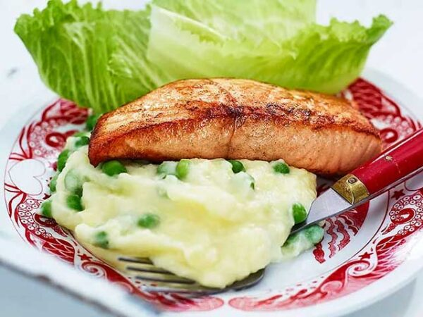 Smorrebrod Salmon Fillet (Fried or Poached)
