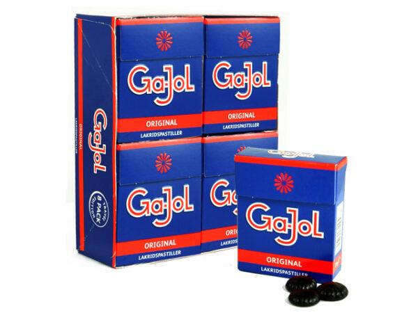 Smorrebrod Ga-Jol Original Lakridspastiller 8x25gr