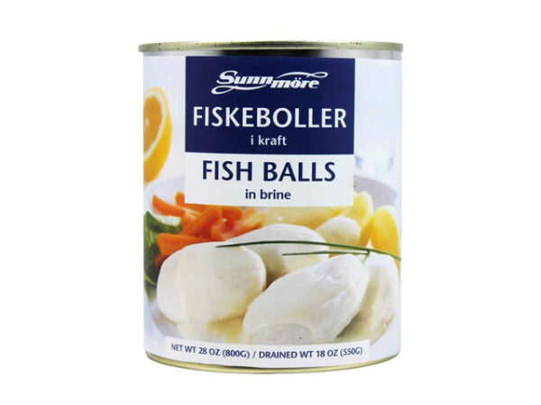 Smorrebrod Fish balls in brine / Fiske Boller i kraft 800gr