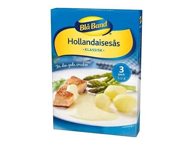 Smorrebrod Blå Band Hollandaisesås