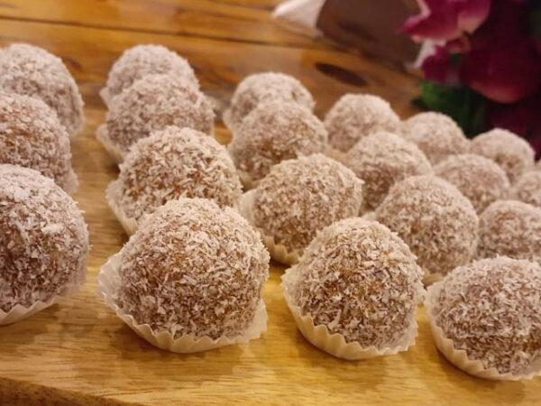 Smorrebrod Choklad Bollar / Chocolate Balls / Chocolade Bolde