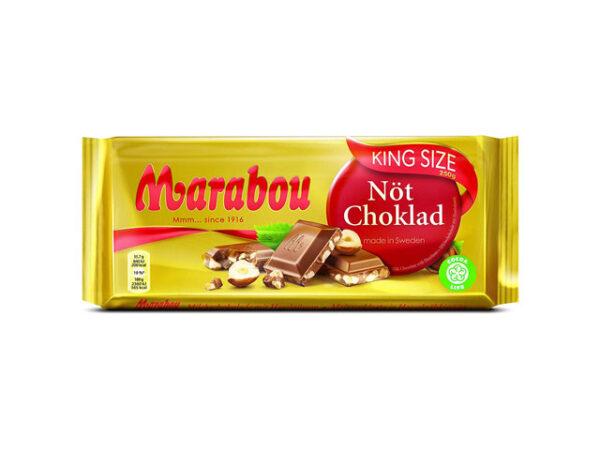 Smorrebrod Marabou Nuts Chocolate 250gr