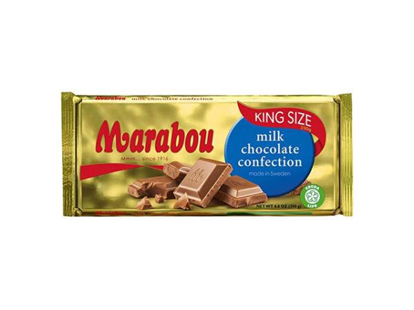Smorrebrod Marabou Milk Chocolate 250gr