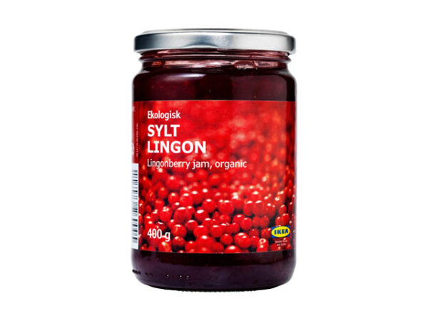 Smorrebrod Lingonberry Jam / Lingonsylt / Tyttebær / Puolukka / Organic