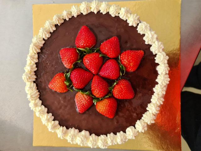 Smorrebrod Othello Cake / Othellolagkage