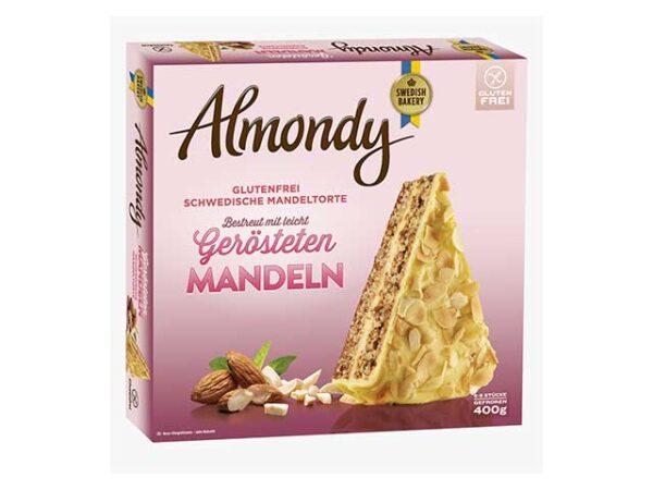 Smoorebrod Swedish Almond Cake 400gr. Gluten Free.