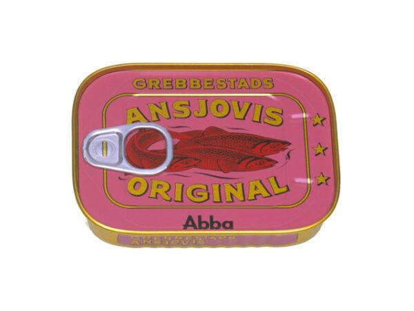 Smorrebrod GREBBESTADS Ansjovis 125gr