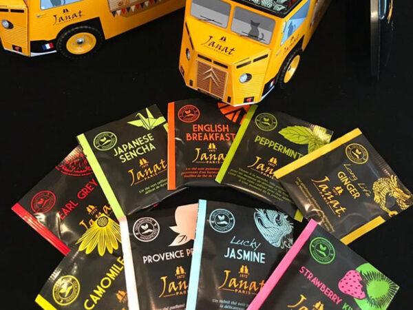 Smorrebrod Janat Mini Tea Caravan