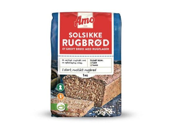 Smorrebrod Sunflower bread / Solsikkerugbrød / Solrosbröd / Auringonkukkaleipä / Solsikkebrød