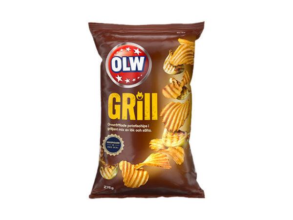 Smorrebrod OLW Grill Chips 175gr