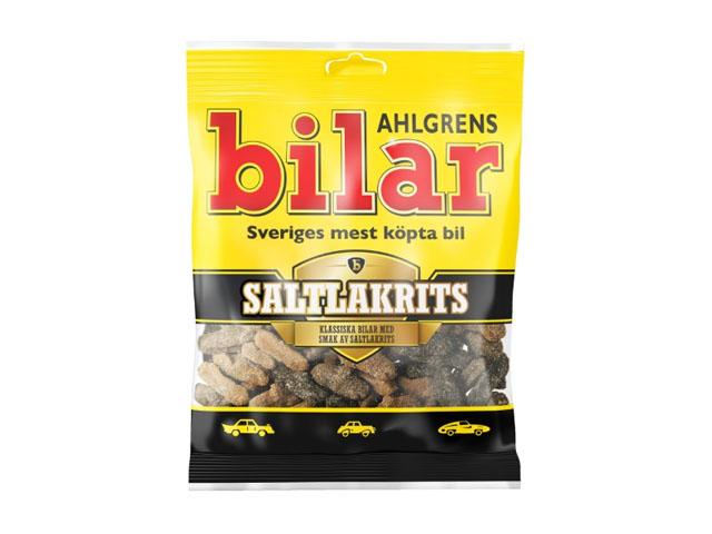 Smorrebrod Ahlgrens Bilar Saltlakrits 100gr