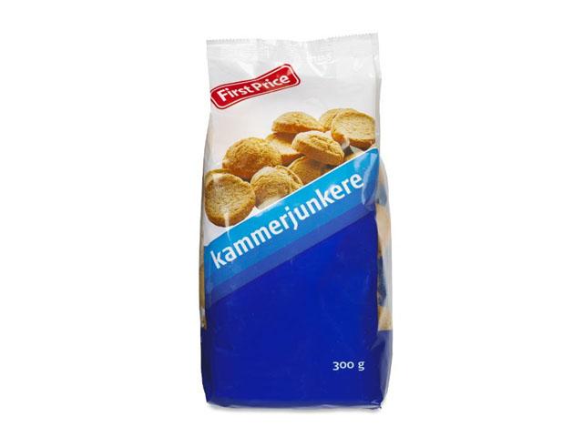 """Smorrebrod Small Rusks """"Kammerjunkere"""" 300 Gr"""