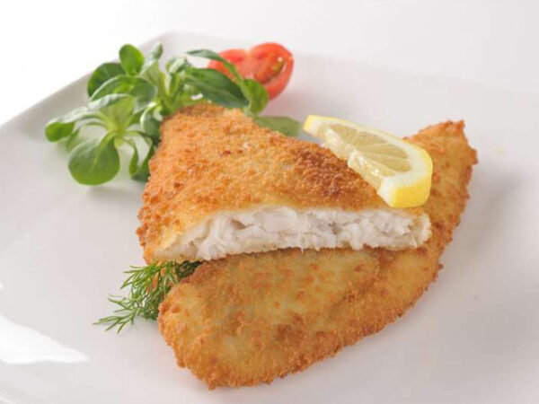 Smorrebrod FishFillet Plaice Breaded / Panerad Rödspätta 100-130gr/pc 1kg