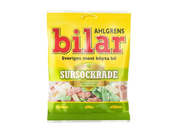 Smorrebrod Ahgrens Bilar Sour Sweet 100gr