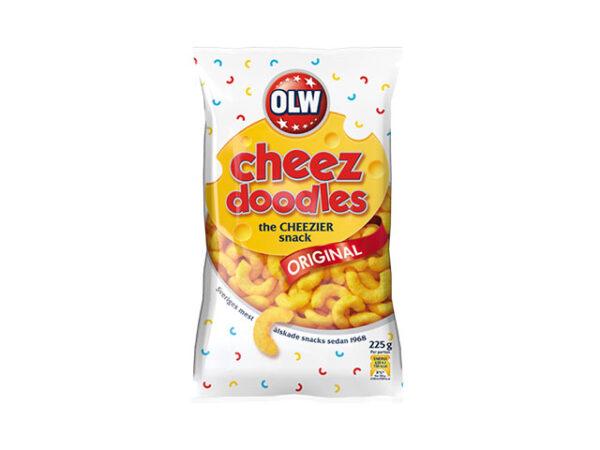 Smorrebrod OLW Cheese Doodles / Ostbågar 120gr