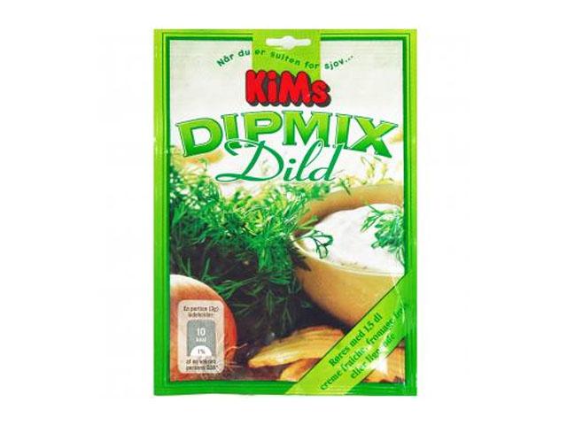 Smorrebrod KIM'S CHIPS DIP MIX DILL 14 GR