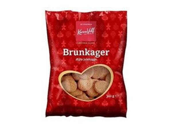 Smorrebrod Brunkager / Brown Cookies 225gr