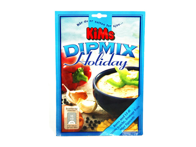 Smorrebrod KIM'S CHIPS DIP MIX HOLIDAY 17 GR