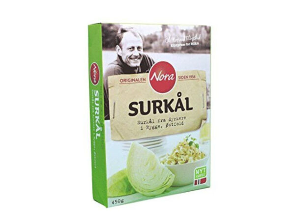 Smorrebrod Nora Surkål – Pickled White Cabbage 450gr