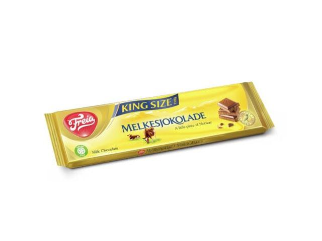 Smorrebrod Freia Melkesjoklade / Milk Chocolate King Size 250gr