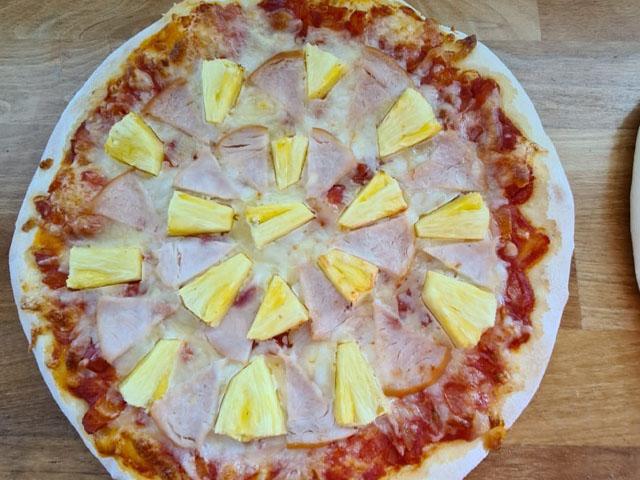 Smorrebrod Pizza Hawaii