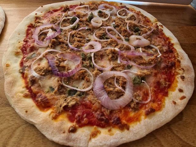 Smorrebrod Pizza Al Tonno