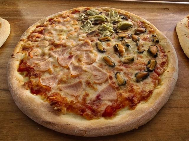 Smorrebrod Pizza Quattro Stagioni